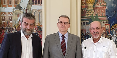 Visit to the Russian Embassy in Spain
