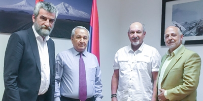Visit to the Armenian Embassy in Spain